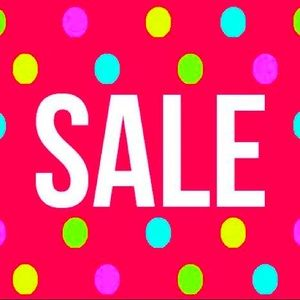 Look for $5 and $10 items! Closet clean out!